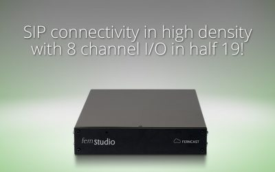 Ferncast announced today the launch of his audio transmission devices fernStudio and fernStation in Europe