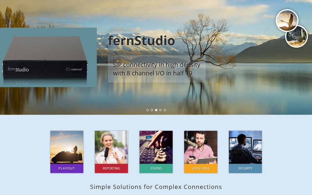 Ferncast GmbH announces new Website Launch