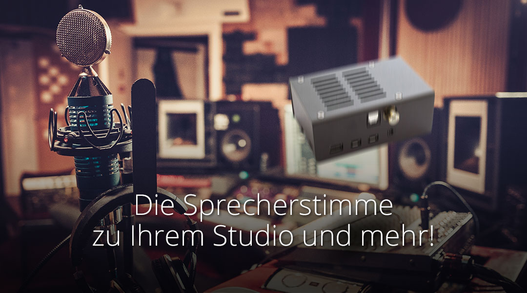 Get the talent's voice to your studio and more!