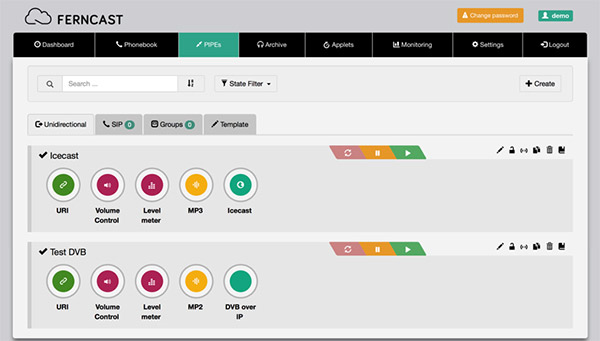 Discover aixtream UI - easy to use and as intuitive as possible to ensure the best user experience.