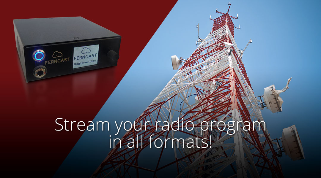 Streaming your radio program to all your listeners in all formats!