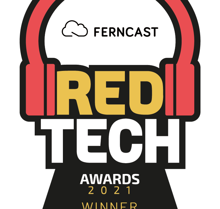 Ferncast software solution aixtream™️ Wins Redtech Top Product Award