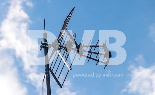 Major German broadcasters chose aixtream for DVB