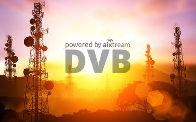 Ferncast announced the release of its aixtream 2.2 software with major additions to its DVB functionality.